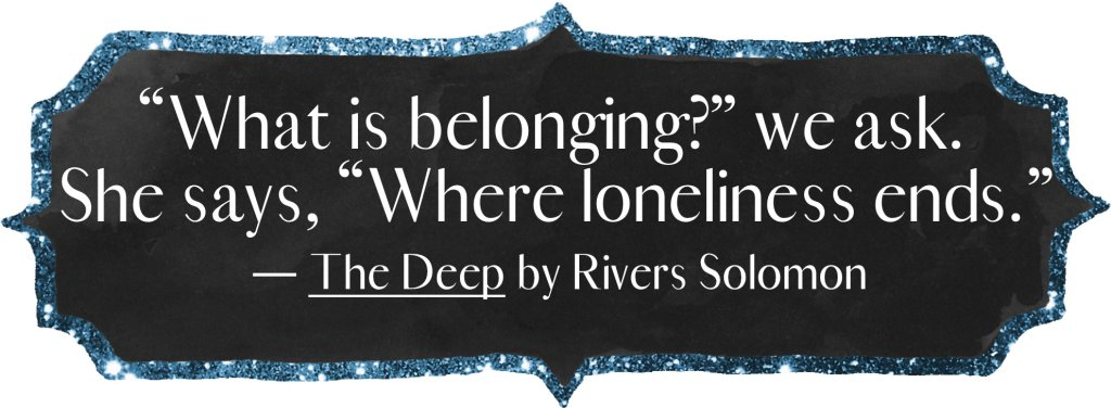 """""""What is belonging?"""" we ask. She says, """"Where loneliness ends."""""""